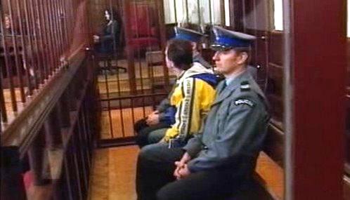 Krzysztof B. před soudem