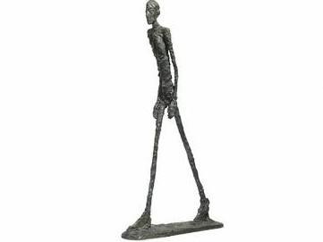Alberto Giacometti L\'Homme Qui Marche I (Kráčející muž I)