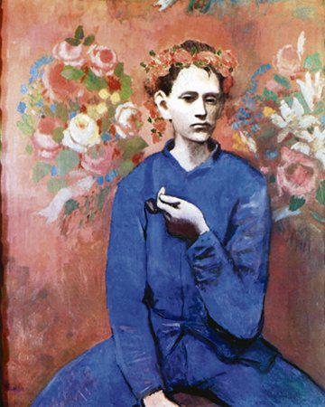 Pablo Picasso / Chlapec s dýmkou