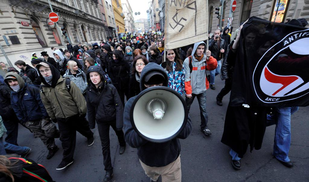Pochod proti rasismu a neonacismu