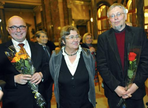 Laureáti Ceny Ferdinanda Peroutky za rok 2009
