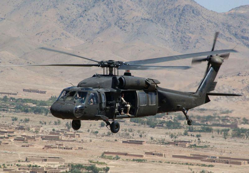 Víceúčelový vrtulník Black Hawk