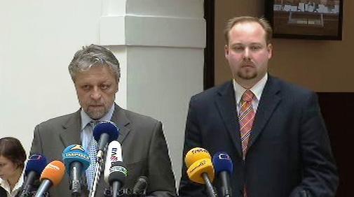 František Bublan a Jeroným Tejc