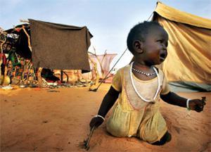 Sudánské dítě