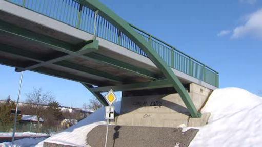 Mostní nájezd cyklostezky