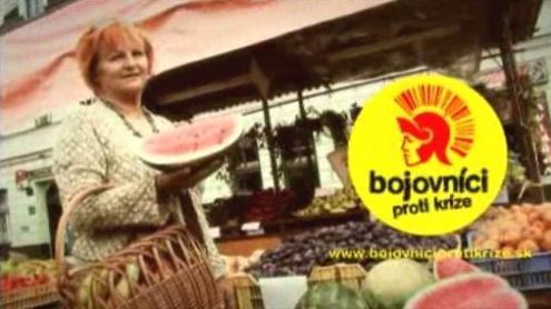 Slovenská kampaň proti krizi