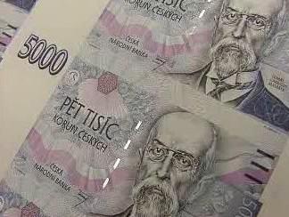 Nově vytištěné bankovky