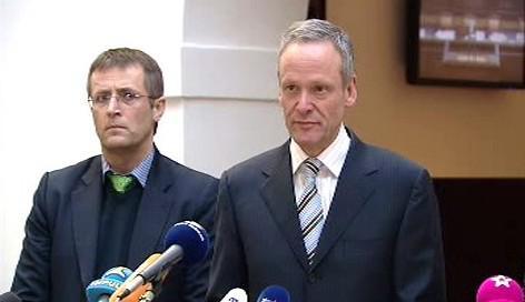 Roman Kumpošt a Cyril Svoboda