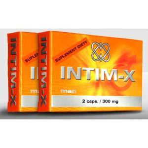 Doplněk stravy na podporu erekce INTIM-X