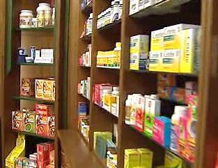 Léky v lékárně