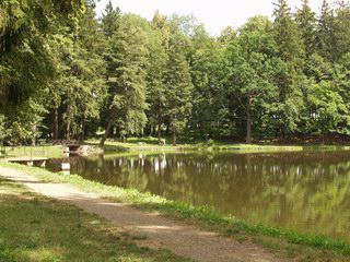 Park ve Světlé nad Sázavou