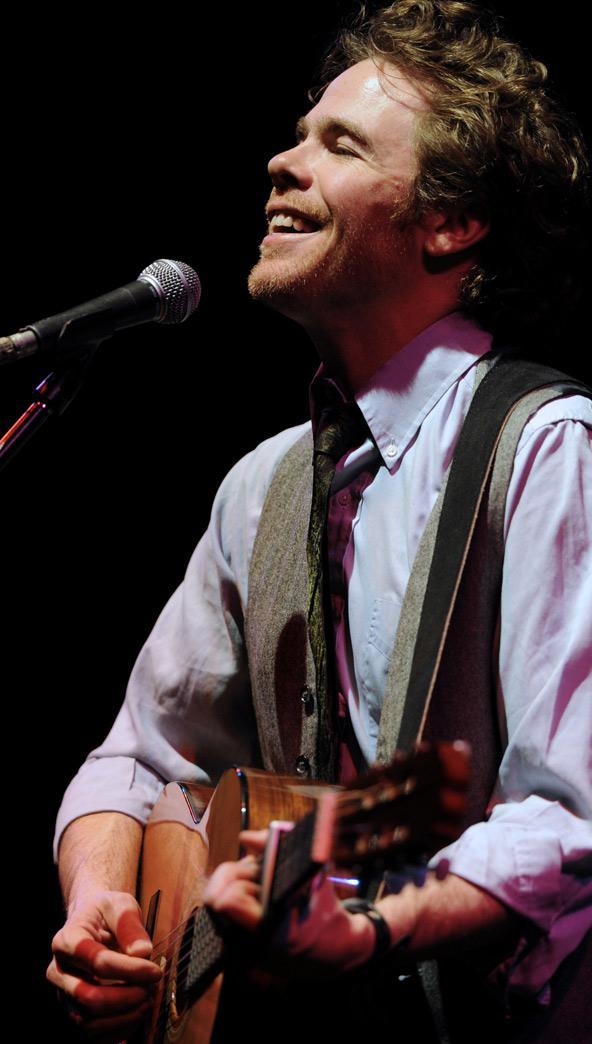 Americký písničkář Josh Ritter