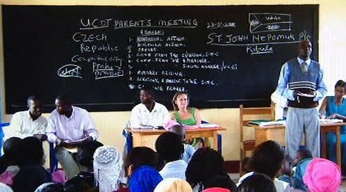 Výuka v Ugandě