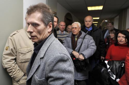 Vladimír Hučín u Vrchního soudu v Olomouci