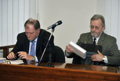 Tomáš Sokol a Tomáš Hradílek (vpravo)