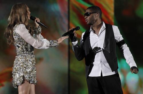 Celine Dionová a Usher
