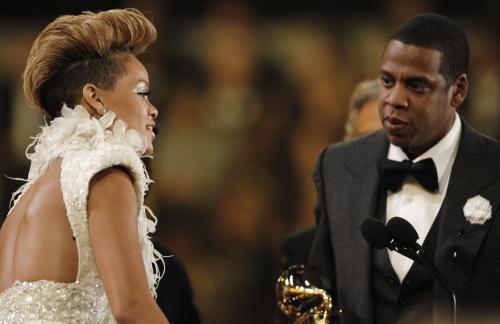 Rihanna a Jay-Z
