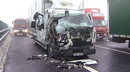 Následky hromadné nehody