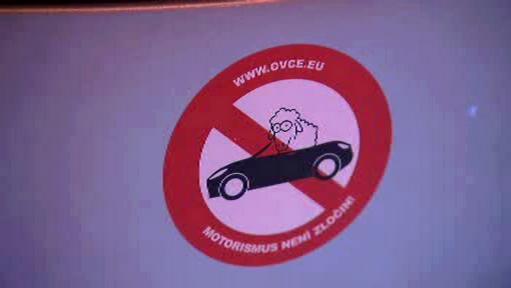 Protest pražských řidičů