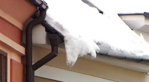 Tající sníh