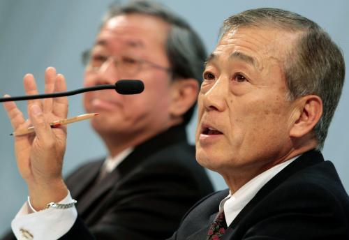 Výkonný ředitel Hondy Takeo Fukui