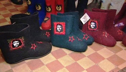Ruské válenky s Che Guevarou