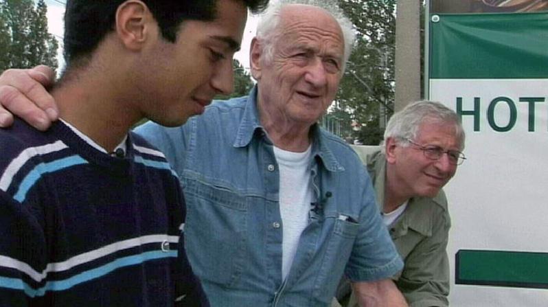 Arnošt Lustig se synem Josefem a vnukem