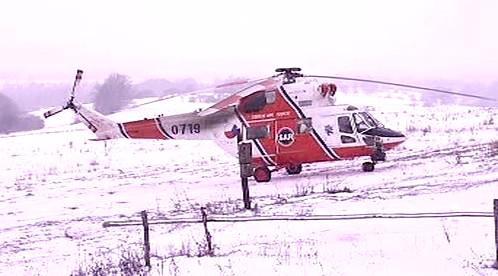 Záchranářský vrtulník