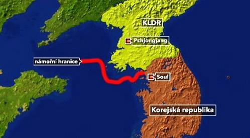 Námořní hranice mezi Severní a Jižní Koreou