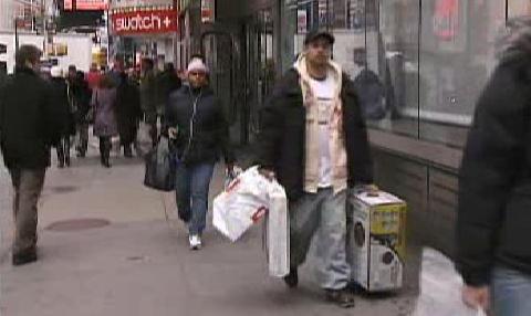 Nakupující Američané