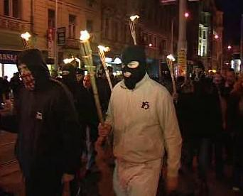 Pochod neonacistů