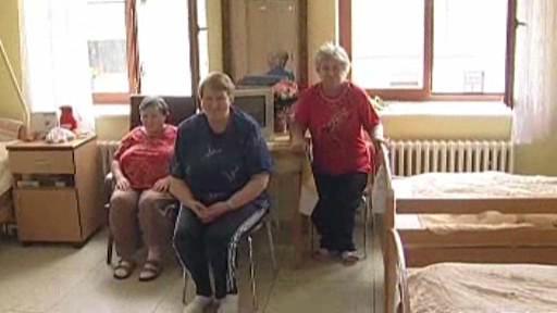 Obyvatelky domova důchodců