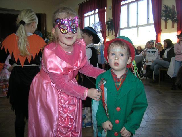 Dětský karneval v Šumné