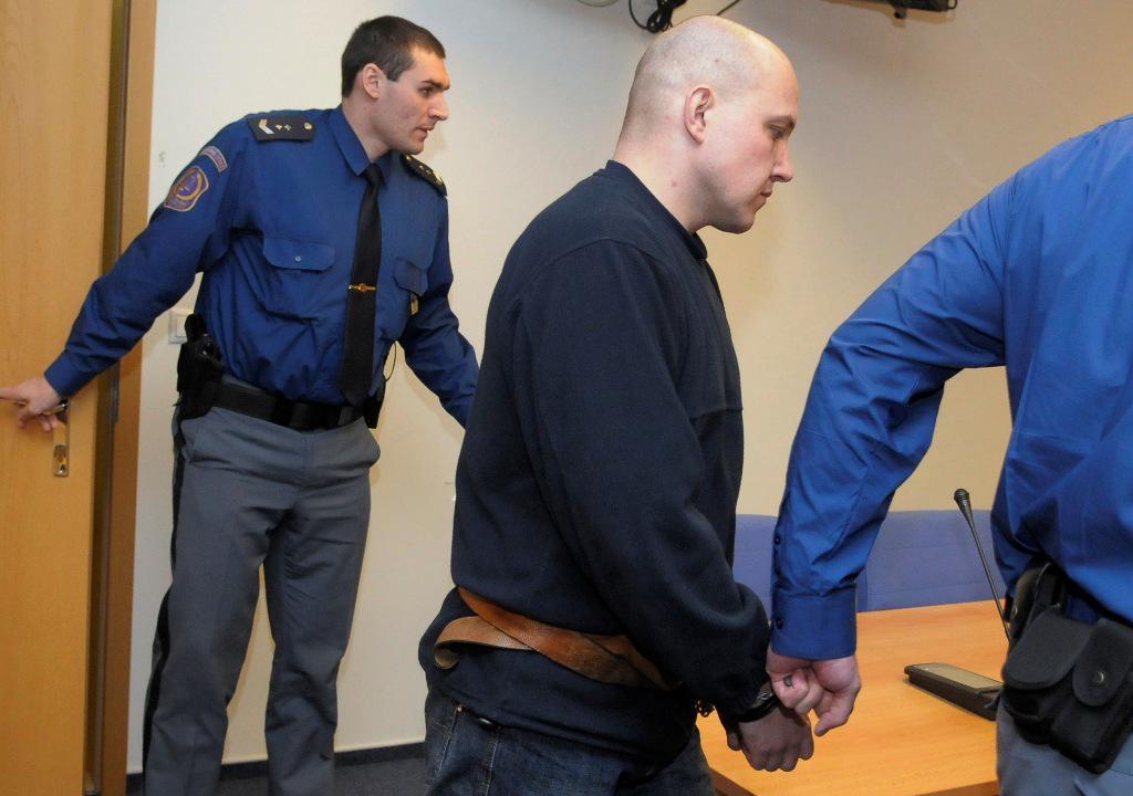 Martin Fišer u soudu