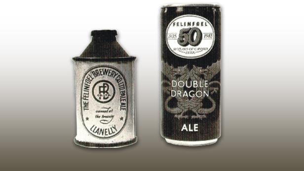 Plechovka piva z 50.let