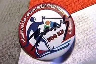 Odznak na podporu běžeckých tratí