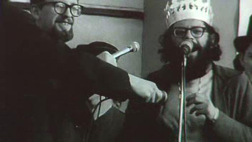 Allen Ginsberg Králem Majálesu 1965