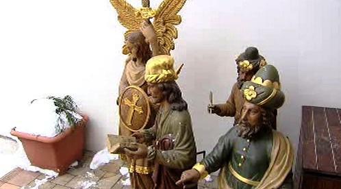 Sochy z pražského orloje