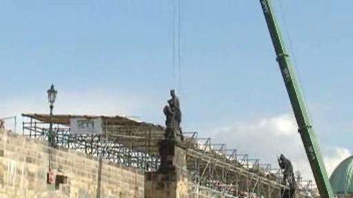 Oprava Karlova mostu