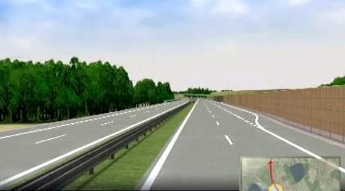 Model dálnice