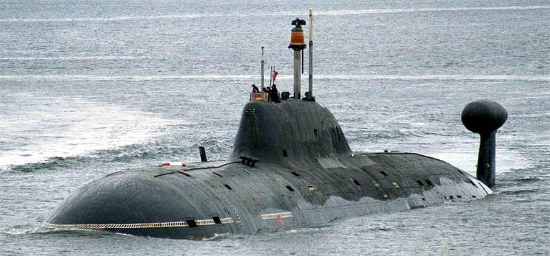 Ruská ponorka třídy Akula