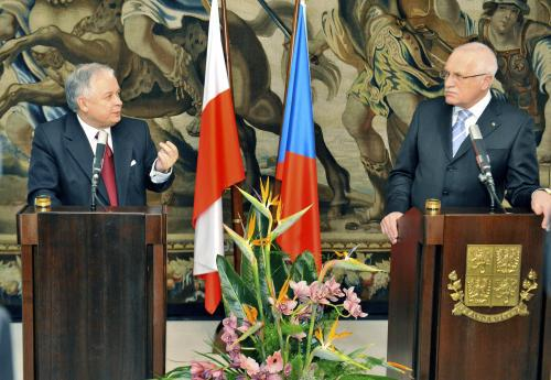 Lech Kaczyński a Václav Klaus
