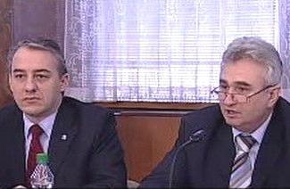 Josef Středula a Milan Štěch