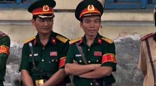 Vietnamští policisté