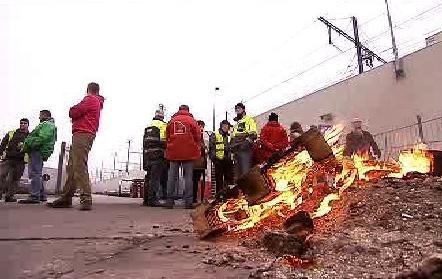 Stávka zaměstnanců InBevu