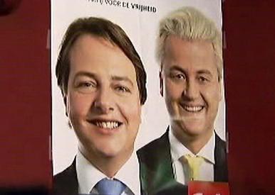 Plakát Wildersovy Strany pro svobodu