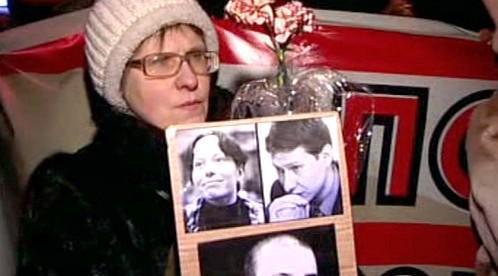 Připomínka výročí vraždy Markelova a Baburovové