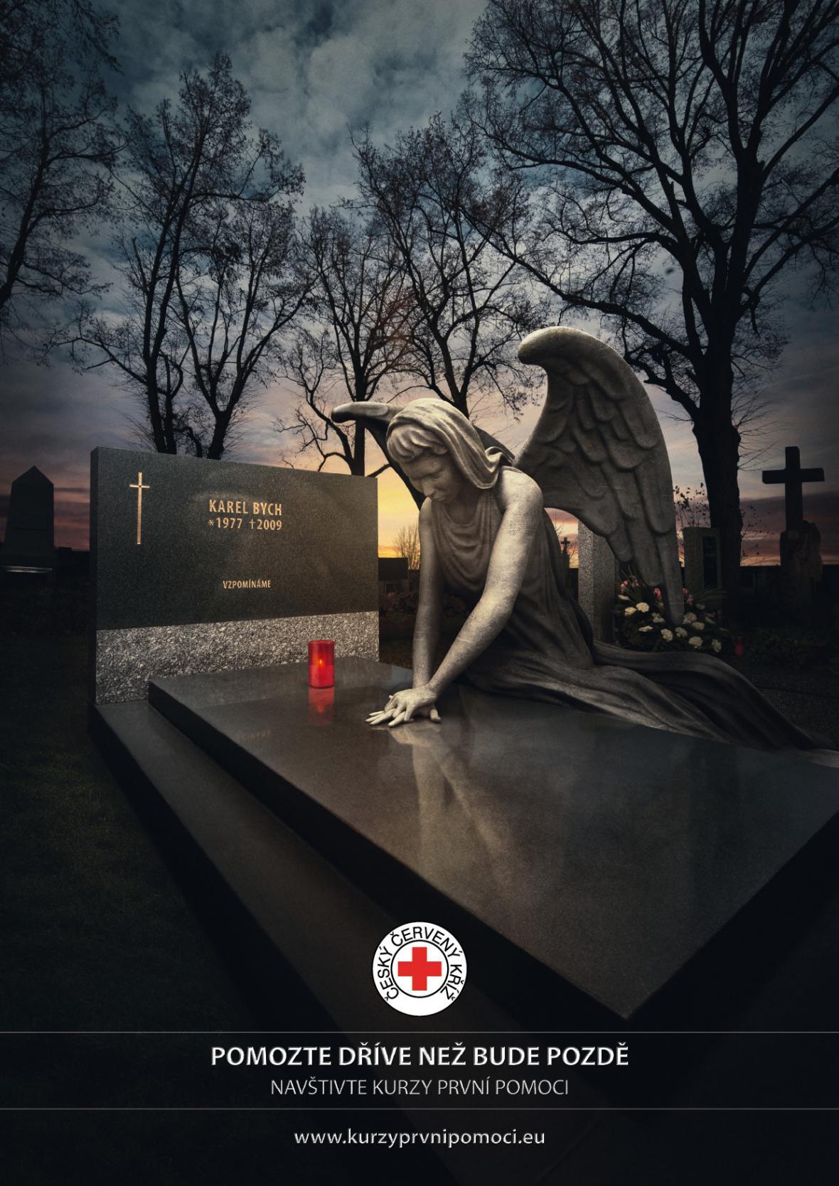 Plakát ke kurzu první pomoci