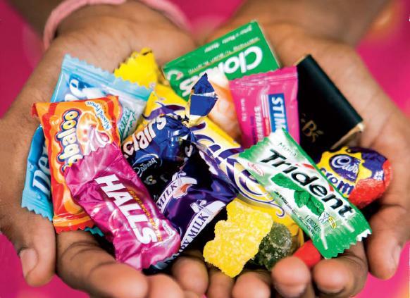 Produkty firmy Cadbury
