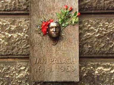 Pomník Jana Palacha